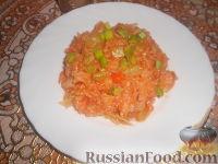 Фото к рецепту: Рис с кабачками и капустой (в мультиварке)