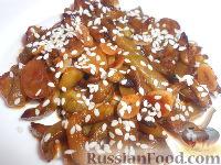 Фото к рецепту: Жареные огурцы по-китайски