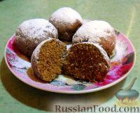 Фото к рецепту: Ржаные пряники на пару