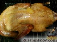 Фото приготовления рецепта: Утка с медом - шаг №7