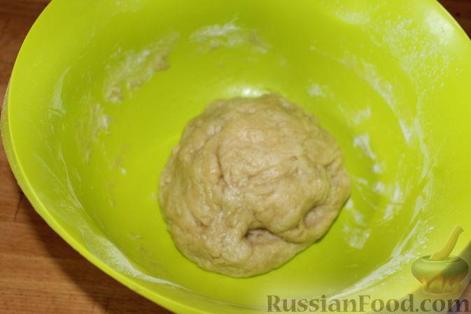 Фото приготовления рецепта: Пирог со свежими баклажанами - шаг №6