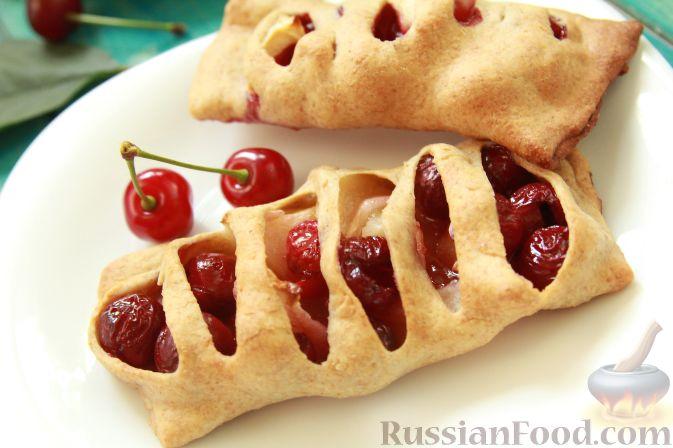 Пирожки из вишни рецепт с фото