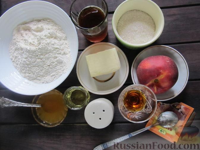 Фото приготовления рецепта: Пирог на пивном тесте, со свежим нектарином - шаг №1
