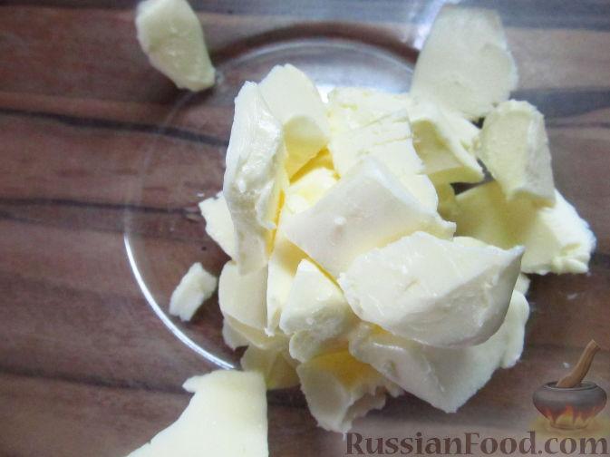 Фото приготовления рецепта: Пирог на пивном тесте, со свежим нектарином - шаг №2