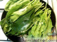 Фото приготовления рецепта: Шпинат жареный - шаг №5
