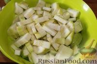 """Фото приготовления рецепта: Закуска """"Кабачки по-уральски"""" - шаг №3"""