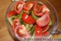 """Фото приготовления рецепта: Закуска """"Кабачки по-уральски"""" - шаг №4"""