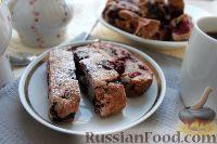 Фото к рецепту: Печенье бискотти с вишней и шоколадом