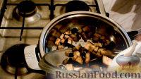 """Фото приготовления рецепта: Жареные баклажаны """"Как грибы"""" - шаг №5"""