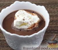 Фото к рецепту: Шоколадный мусс с заварным кремом