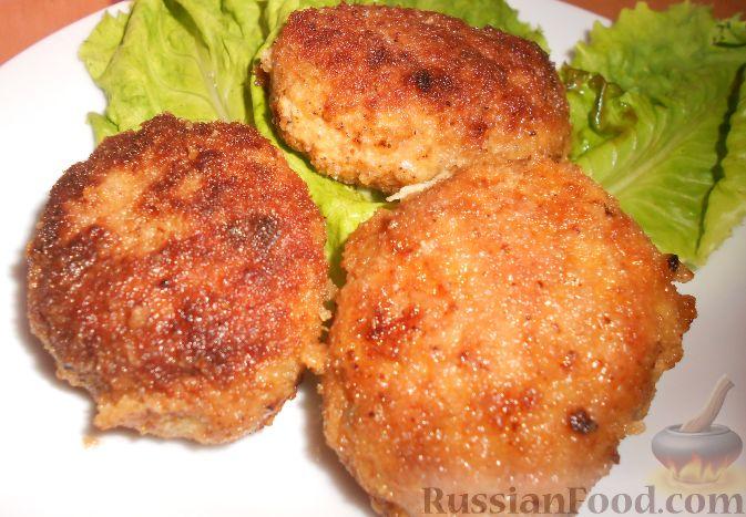 Мясные котлеты с кабачками рецепт с фото пошагово