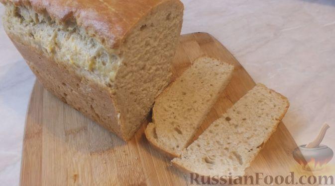 Бездрожжевой хлеб в домашних условиях на кефире с ржаной мукой