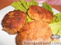Фото к рецепту: Мясные котлеты с кабачками