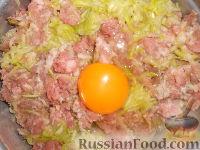 Фото приготовления рецепта: Мясные котлеты с кабачками - шаг №4