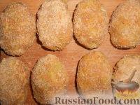 Фото приготовления рецепта: Мясные котлеты с кабачками - шаг №8