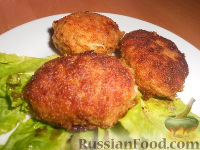 Фото приготовления рецепта: Мясные котлеты с кабачками - шаг №12