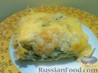 Фото к рецепту: Запеканка картофельная со щавелем