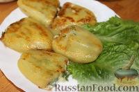 Фото к рецепту: Жареный болгарский перец с сыром (чушки бюрек)