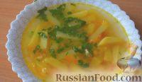 Фото к рецепту: Гороховый суп с картофелем, на курином бульоне