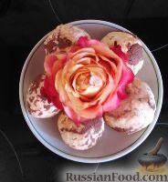 """Фото к рецепту: Творожный десерт """"Перепелиные яйца"""""""