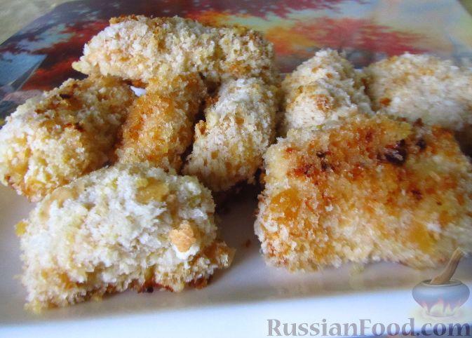 куриные наггетсы в духовке рецепты с фото