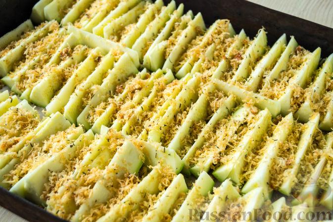 рецепт из кабачков с фото в духовке