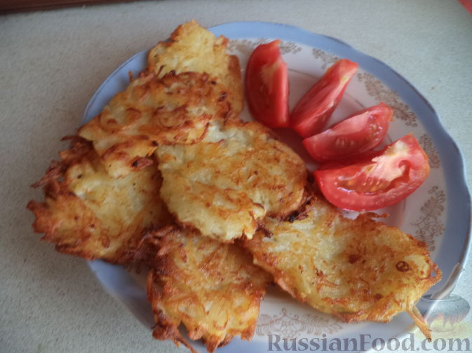 как приготовить драники из кабачка и картошки