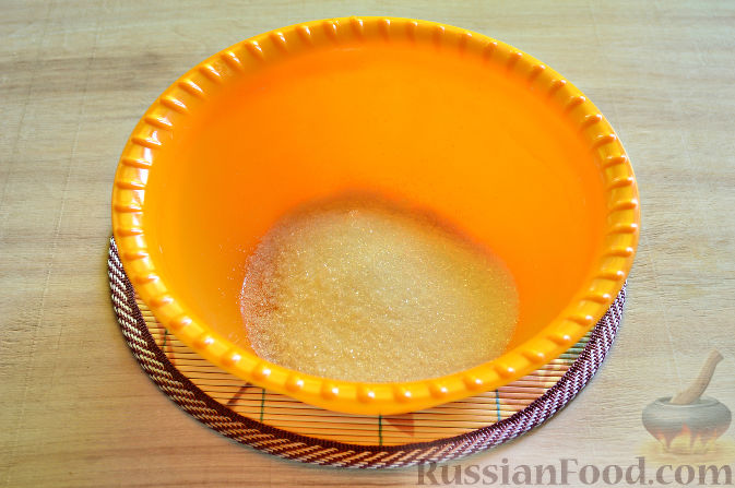 Фото приготовления рецепта: Вишневый кекс с изюмом - шаг №2