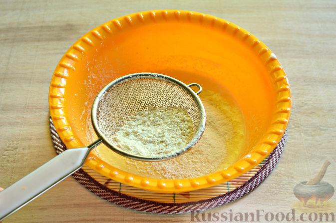 Фото приготовления рецепта: Вишневый кекс с изюмом - шаг №6