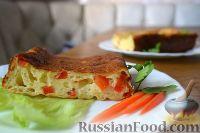 Фото к рецепту: Запеканка из творога с болгарским перцем