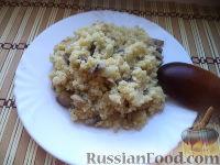 Фото к рецепту: Пшенная каша с грибами (в мультиварке)