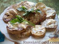 Фото к рецепту: Жареные кабачки с чесноком и сметаной