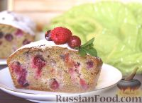 Фото к рецепту: Цельнозерновой пирог с крыжовником и смородиной