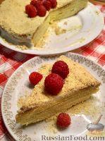 Фото к рецепту: Медовый торт с патокой