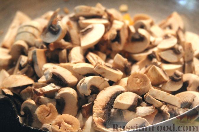 рецепт салат с грибами орехами