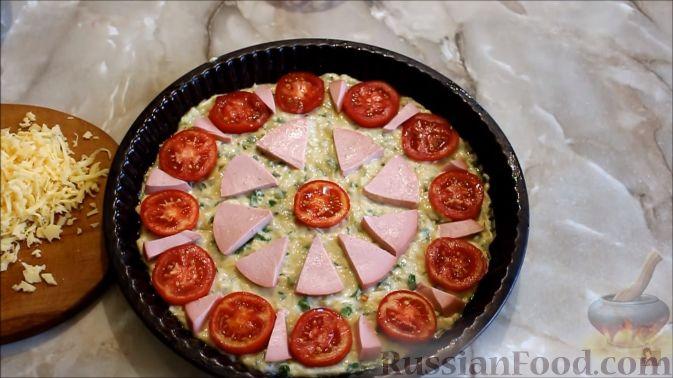 Фото приготовления рецепта: Дрожжевые пирожки-мешочки с картофелем, курицей и сыром - шаг №1