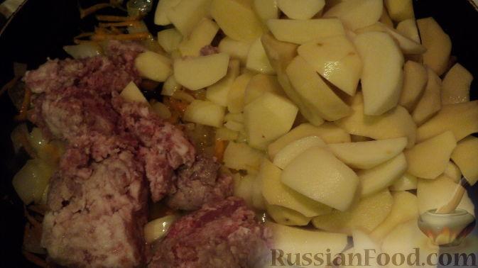 рецепт соуса с картошкой и мясом
