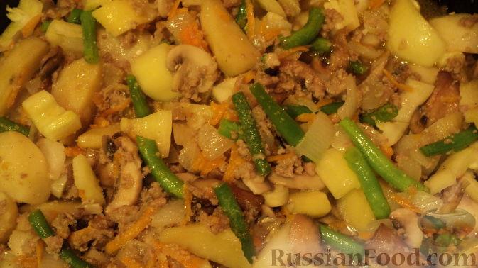 рагу с картошкой и мясом в духовке рецепт с фото