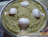 Фото к рецепту: Грибной паштет с кабачками и творожным сыром