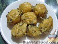 Фото к рецепту: Картофель под сметанным соусом (в духовке)