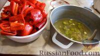Фото приготовления рецепта: Маринованный болгарский перец (на зиму) - шаг №2