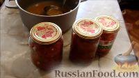 Фото приготовления рецепта: Маринованный болгарский перец (на зиму) - шаг №5