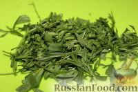 Фото приготовления рецепта: Пестрый салат из фасоли и печеного перца - шаг №9