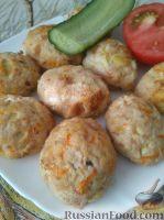 Фото к рецепту: Индюшиные котлеты в духовке