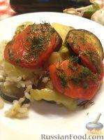 Фото к рецепту: Овощное рагу с рисом