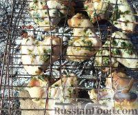 Фото приготовления рецепта: Куриные крылышки в соевом соусе - шаг №8