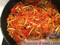 """Фото к рецепту: Овощи тушеные """"Овощной вальс"""""""