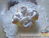 Фото к рецепту: Кудрявые дрожжевые булочки