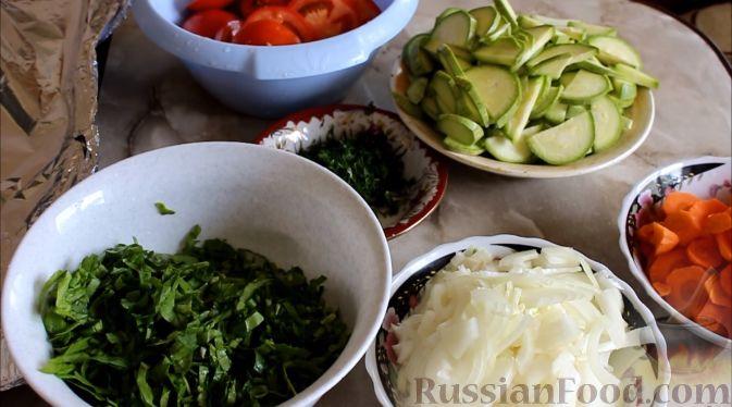 рецепты карасей в духовке с овощами