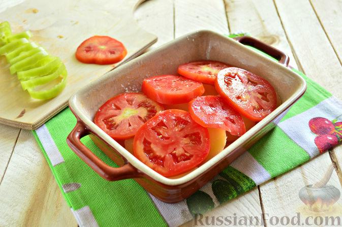 Фото приготовления рецепта: Отрывной яблочный пирог - шаг №3